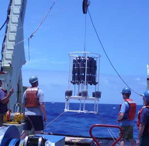 roseta oceánica de análisis