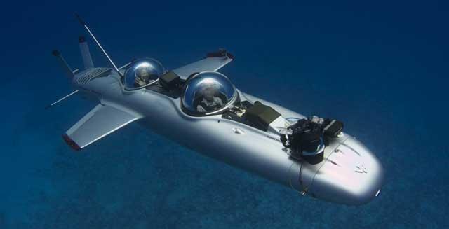 submarino DeepFlight Super Falcon