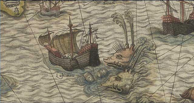mostruosas ballenas atacan barcos