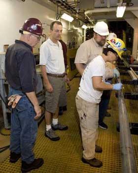 catas de perforación submarina en Tamu Massif