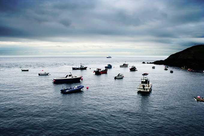 costa de la Isla de Sark