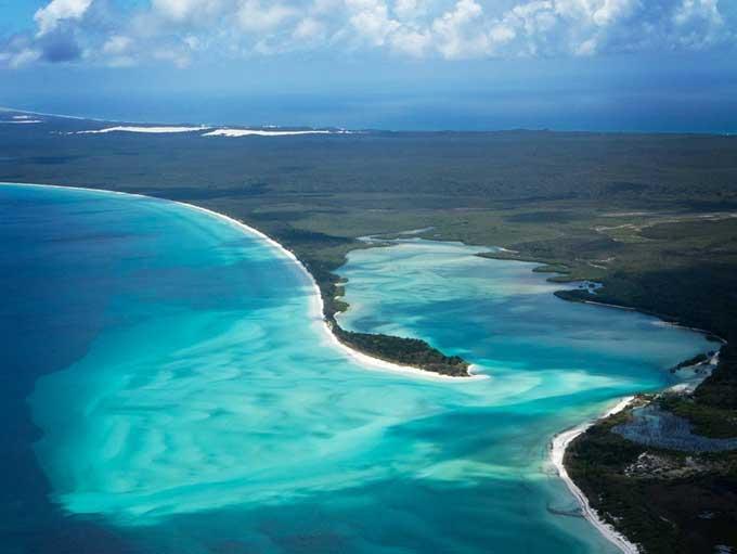 costa de la isla Fraser, Australia