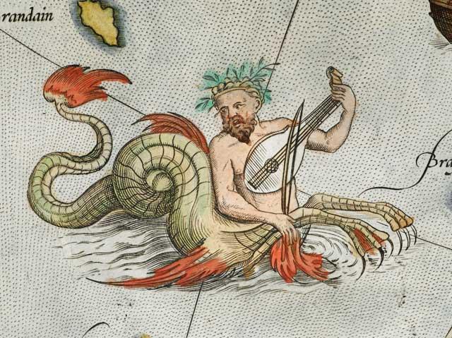 ictiocentauro tocando el violín