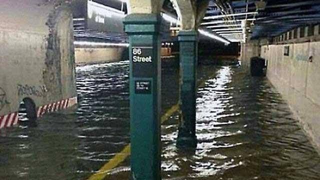 inundación huracán Sandy