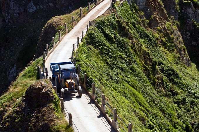 Isla de Sark, tractor