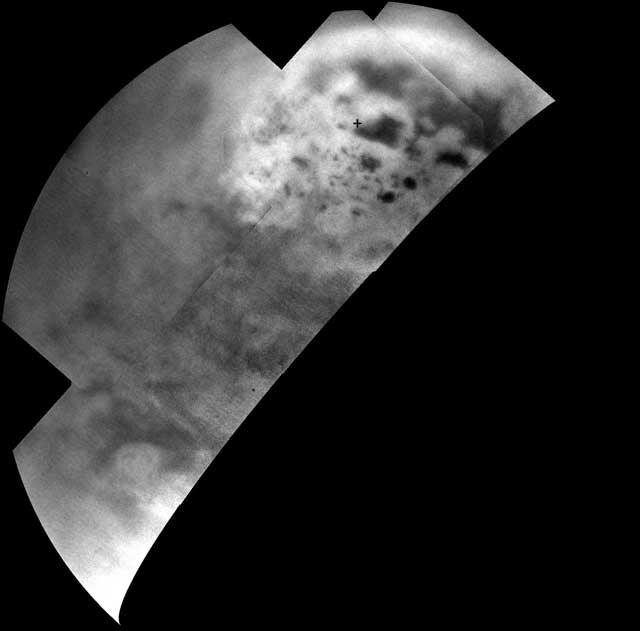 mares y lagos de Titán, la luna de Saturno