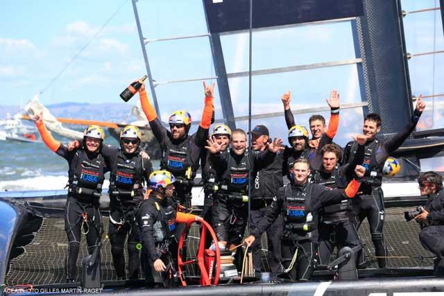 Oracle Team USA ganador de la Copa América 2013