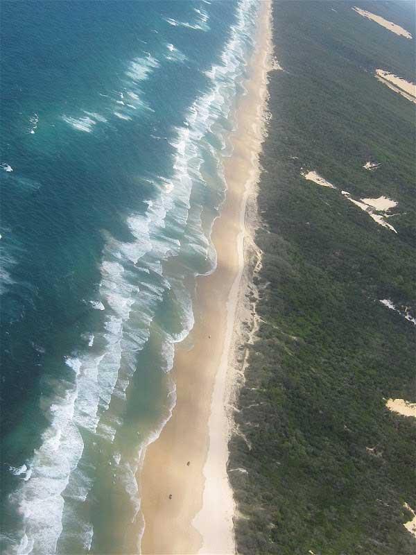 playas de la isla de Fraser, Australia