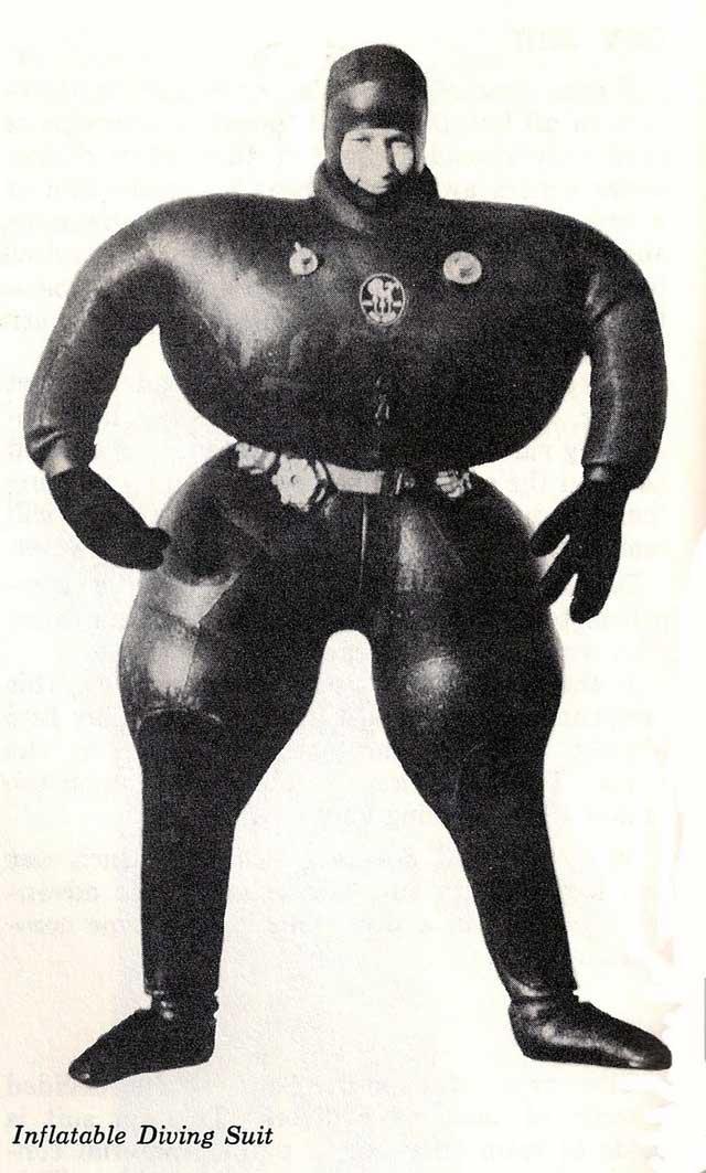 traje de buceo inflable