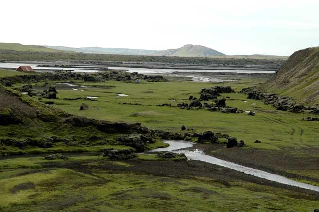 valle de Skaelingar, Islandia