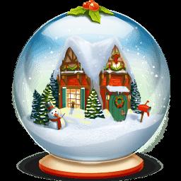 Bola de Nieve navideña