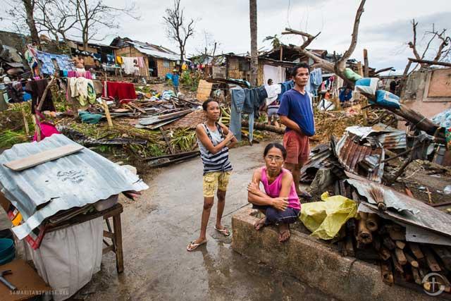 afectados por el tifón Haiyan, Filipinas