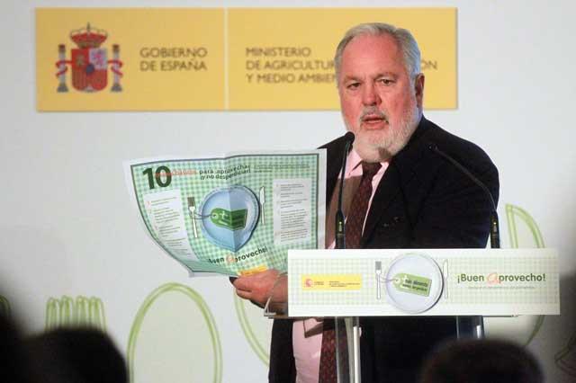 Miguel Arias Cañete, Semana de la Reducción de Desperdicios