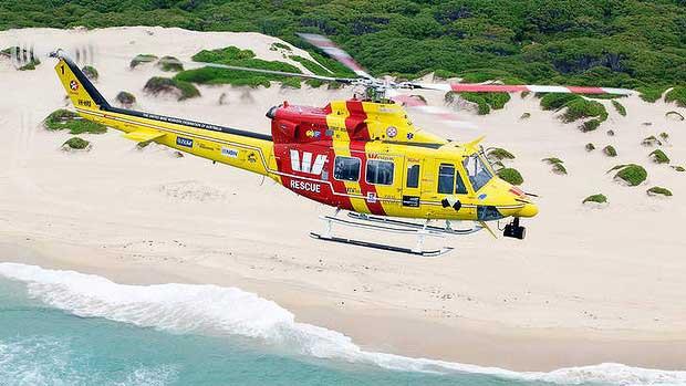 helicóptero de rescate australiano