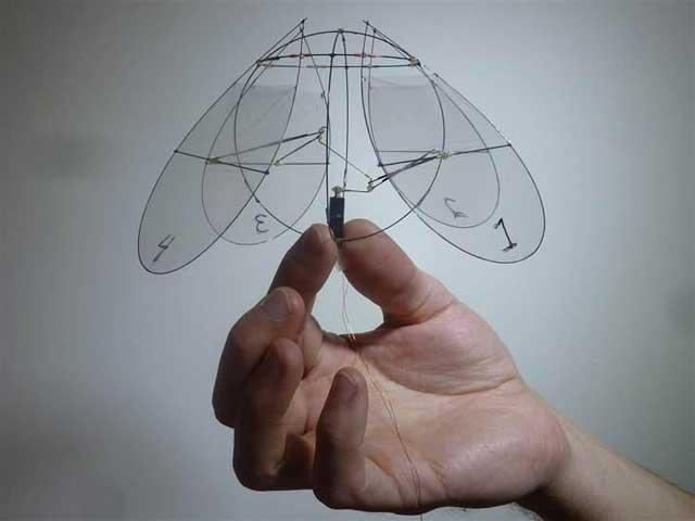 medusa robot voladora