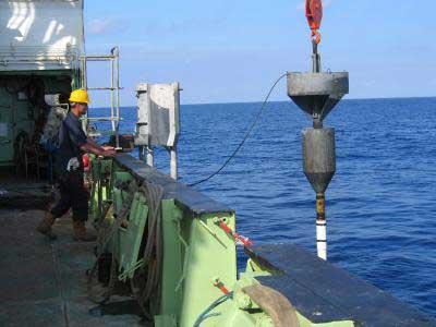 perforación fondo marino