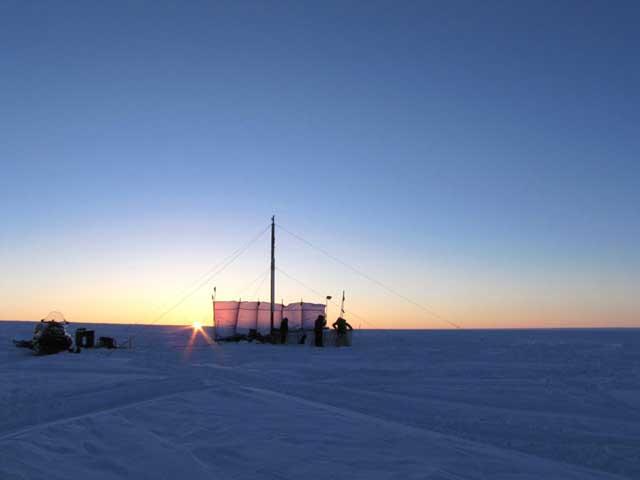 perforación de Forster en el acuífero de Groenlandia