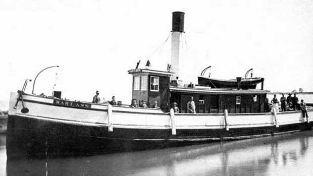 remolcador Mary Ann, Canadá