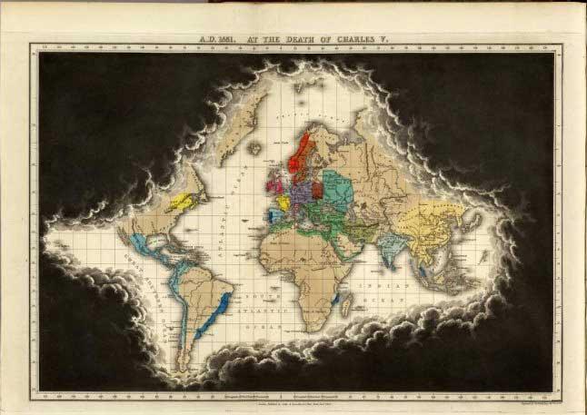 atlas de Edward Quin de 1830