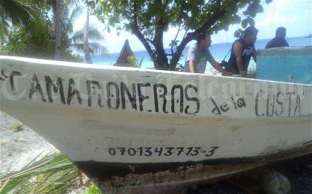 barco de José Alvarenga