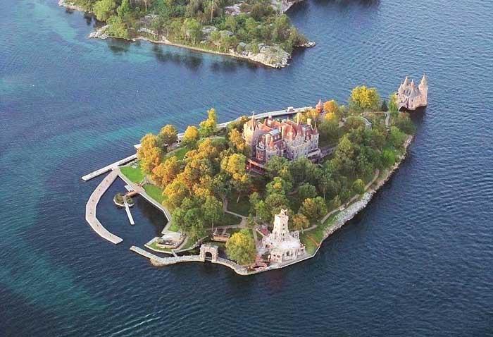 Bold Castle, Heart Islands - Canadá
