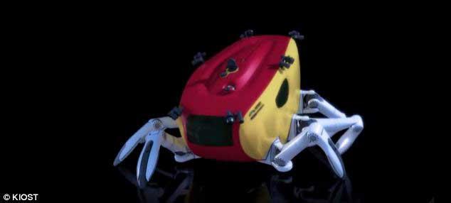 cangrejo robótico Crabster CR200