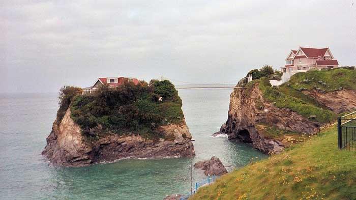 La casa en el mar, isla de Towan