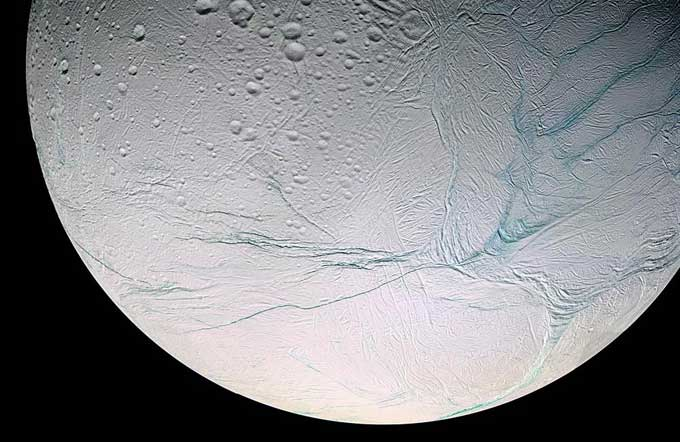 Encélado, la luna de Saturno