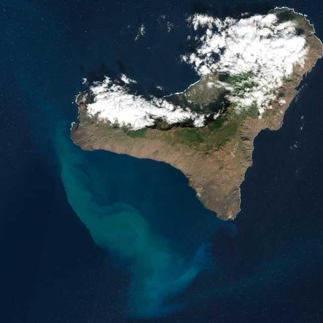 erupción submarina de El Hierro 2011