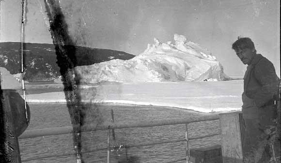 foto de la Antártida de hace 100 años
