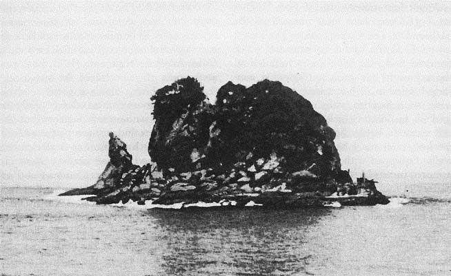 Isla del Fraile, antes de construirse Fort drum