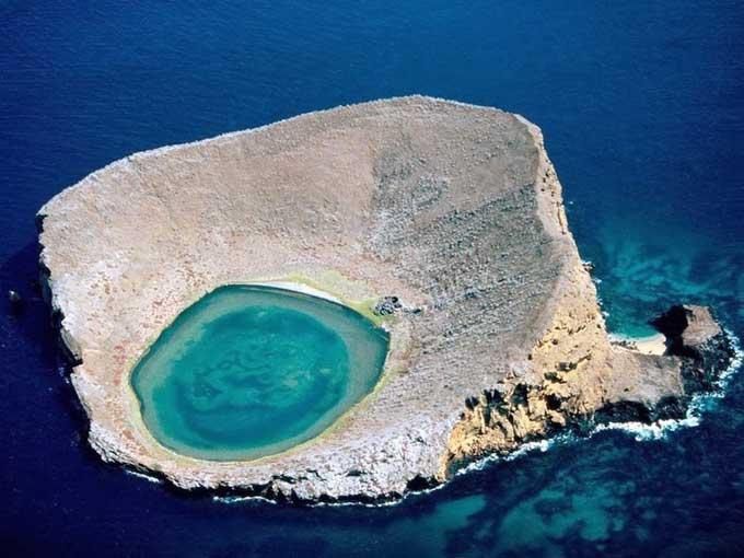 laguna de las Rocas Bainbridge, Galápagos