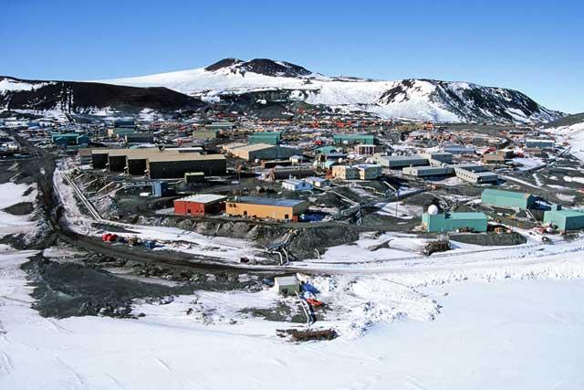 McMurdo Station, Antártida
