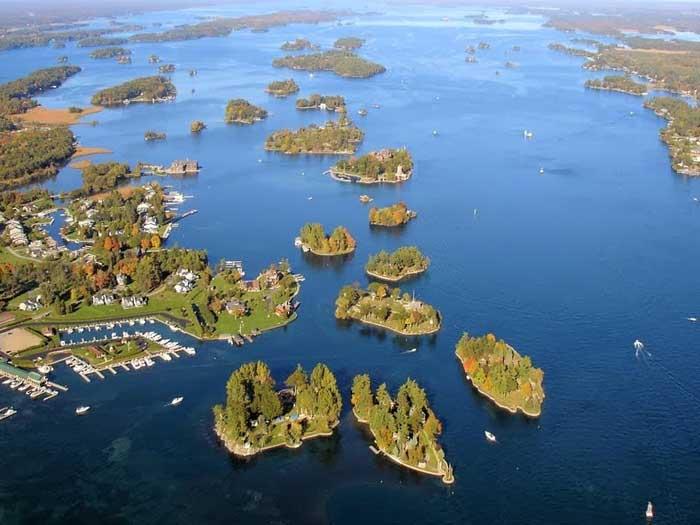 Mil Islas (The Thousand Islands), Canadá