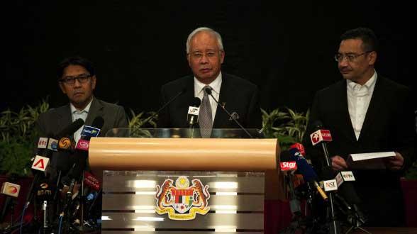 primer ministro de Malasia, Najib Razak
