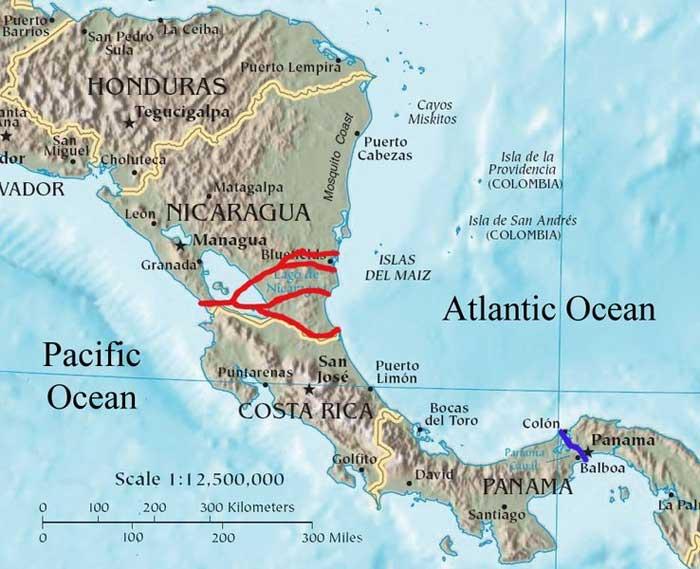 propuestas para el Canal de Nicaragua