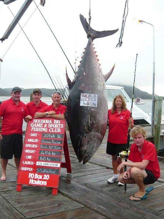 récord de pesca de atún rojo en Nueva Zelanda