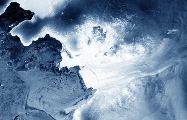 retroceso del glaciar Pine Island