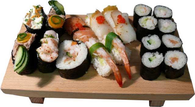 tabla de sushi