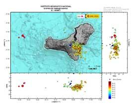 terremotos El Hierro, diciembre 2013