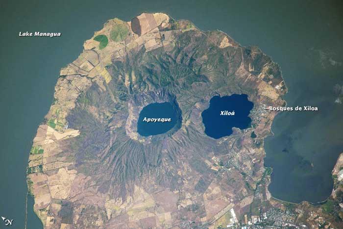 Volcán Apoyeque, Nicaragua