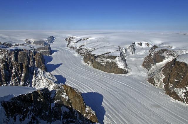 glaciar Groenlandia