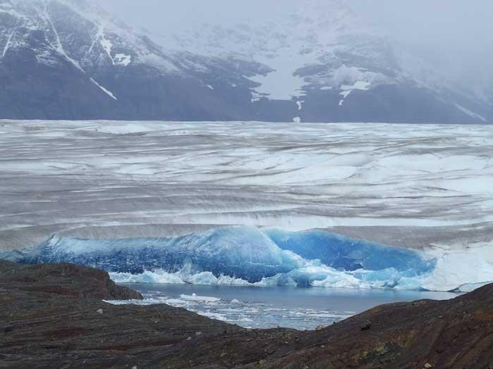 glaciar de Tyndall, Chile