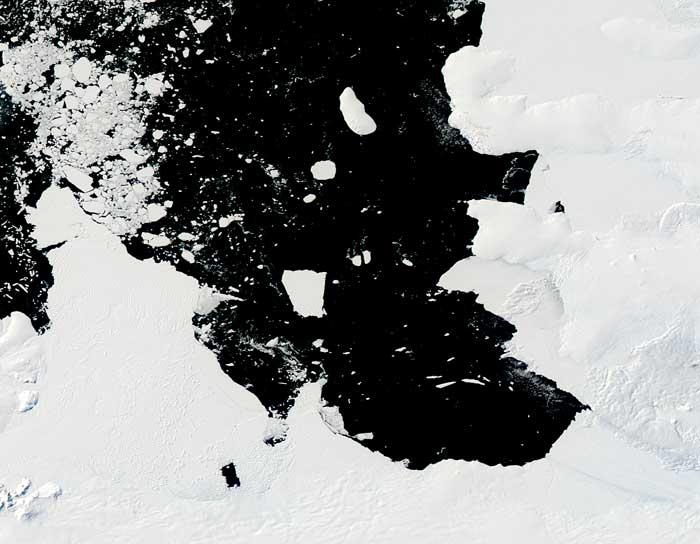 iceberg B31 febrero de 2014