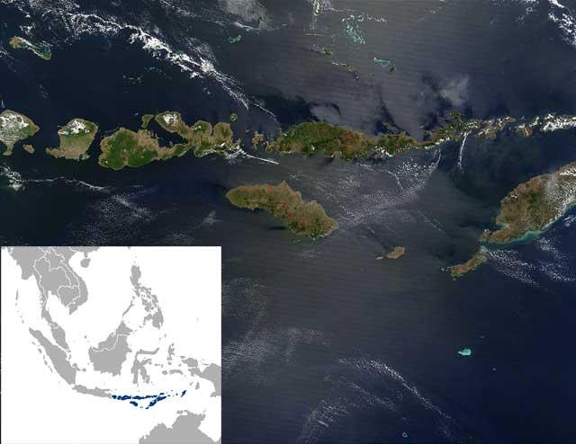 Islas menores de la Sonda (o Nusa Tenggara)