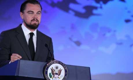 Leonardo DiCaprio conferencia océanos