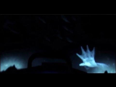 mano palmeada de la supuesta sirena