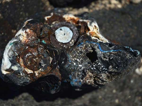plastiglomerate encontrado en Hawái