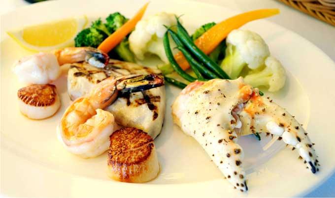 plato de mariscos