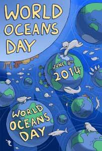 poster Día Mundial de los Océanos